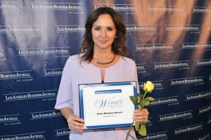 Debra Montalvo Russell oof Signal Hill Petroleum Honored by Los Angeles Business Journal's Women Making a Difference Award